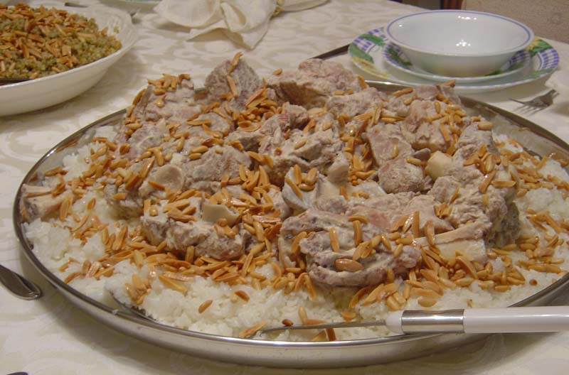 Jordanian Food Mansaf Recipe | Palest...